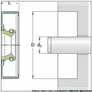 skf 40X85X8 HMSA10 V Radial shaft seals for general industrial applications