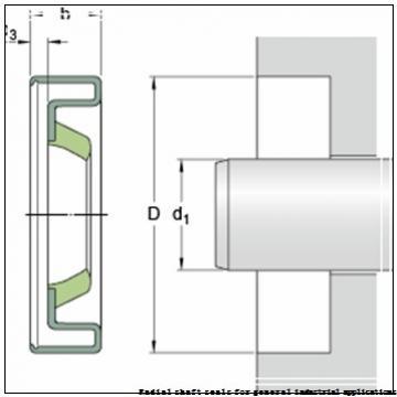 skf 85X105X12 HMSA10 RG Radial shaft seals for general industrial applications