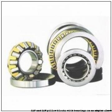 skf SSAFS 22530 x 5.1/8 TLC SAF and SAW pillow blocks with bearings on an adapter sleeve