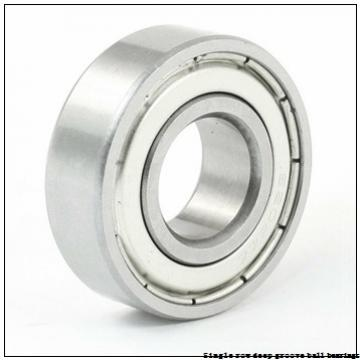 20 mm x 42 mm x 12 mm  NTN 6004ZU1 Single row deep groove ball bearings