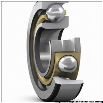 45 mm x 100 mm x 25 mm  skf 7309 BECBM Single row angular contact ball bearings
