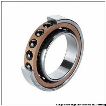 45 mm x 100 mm x 25 mm  skf 7309 BECBY Single row angular contact ball bearings