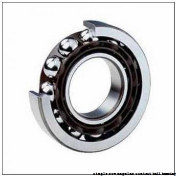 75 mm x 130 mm x 25 mm  skf 7215 BEP Single row angular contact ball bearings