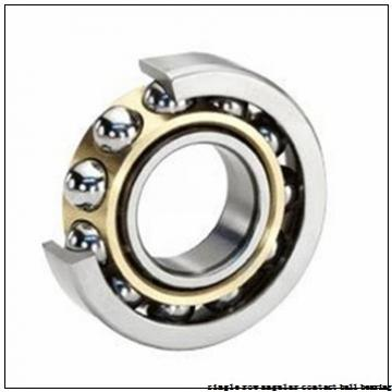 75 mm x 130 mm x 25 mm  skf 7215 BEP Single row angular contact ball bearings