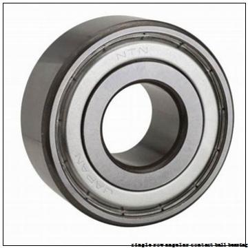 45 mm x 100 mm x 25 mm  skf 7309 BECAP Single row angular contact ball bearings