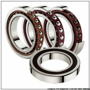 45 mm x 100 mm x 25 mm  skf 7309 BECBP Single row angular contact ball bearings