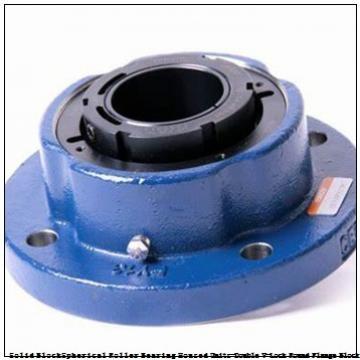 timken QVVFX28V125S Solid Block/Spherical Roller Bearing Housed Units-Double V-Lock Round Flange Block