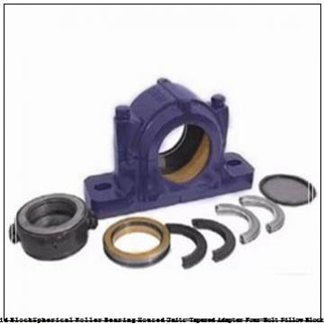 timken DVPF22K100S Solid Block/Spherical Roller Bearing Housed Units-Tapered Adapter Four-Bolt Pillow Block
